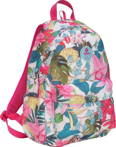 Mochila Xtrem Bondy 810 Backpack Flower Jungle