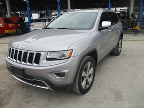 Jeep Grand Cherokee Limited Lujo, 4x4, Color Plata Mod 2016