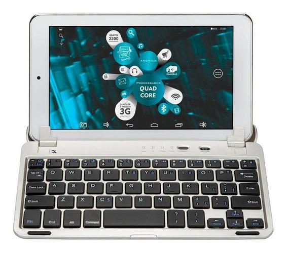 Teclado Bluetooth P/ Tablet Dl Tx308bra Tela 7 Original
