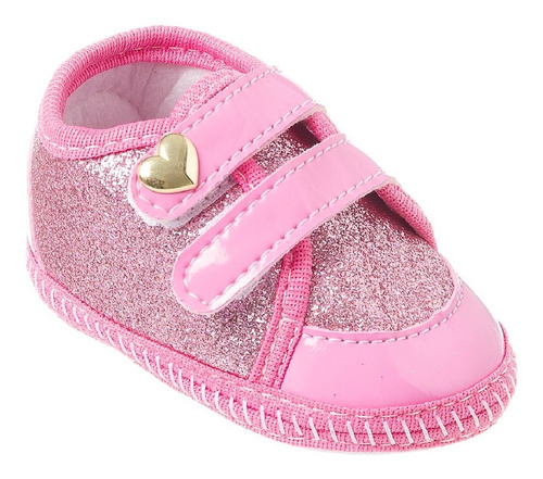 Imagem 1 de 1 de Sapatinho Bebe Tênis Menina Baby Shoes