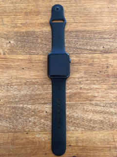 Apple Watch Usado Serie 1 42mm Negro Reloj Correa Deportiva