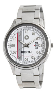 Reloj Orbital Acero Ec366809 Caballero 3atm Cyber Outlet