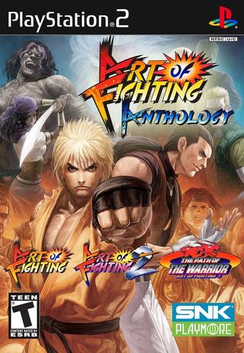 Art Of Fighting Anthology - Ps2 - Frete R$ 17