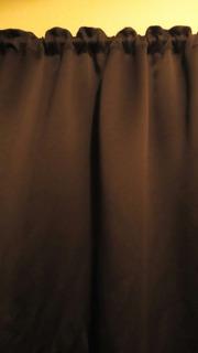 Cortina Black Out Chocolate Elegante