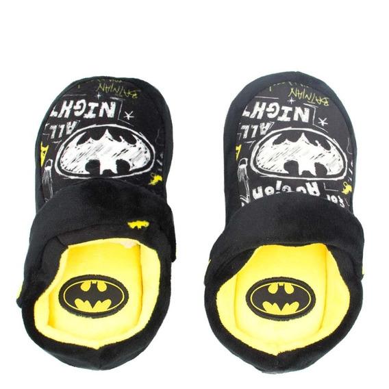 Pantufa Infantil Chinelo Kick Ricsen Batman Batman Rcs