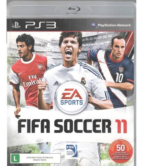 Jogo Fifa Soccer 11 Play3 Midia Fisica -original
