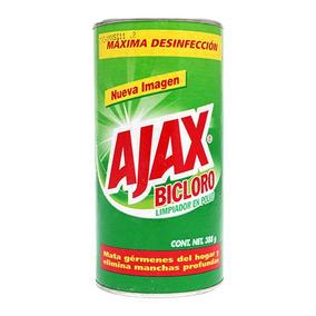 Limpiador En Polvo Ajax Bicloro 388 G