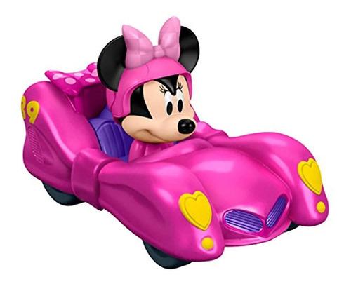 Carro De Juguete, Color Rosado
