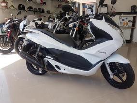 Honda Pcx 150 2015 Branca 10000 Km