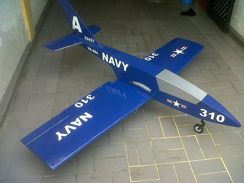 Imagen 1 de 6 de Jet Rc Trainer Robert Model