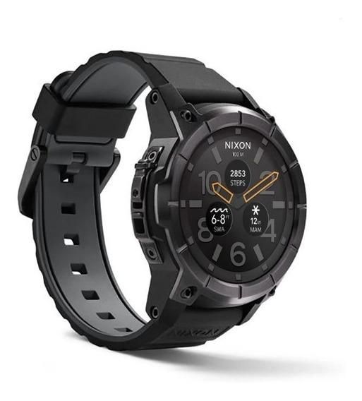 Relógio Nixon Mission Smartwtch - All-black ( Usado Ótimo Estado) Veja As Fotos