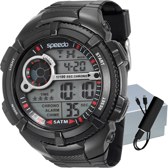 Relógio Speedo Masculino Quartz Ref.: 81130g0evnp1k1