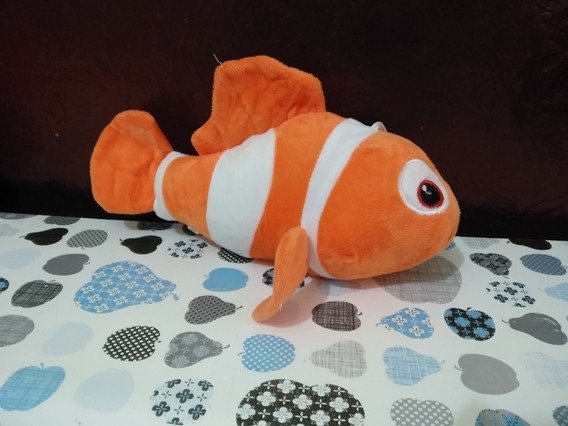 Pelucia Peixe Nemo Musical 28cm Antealergico