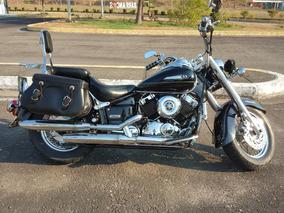 Moto Yamaha Dragstar 650 Color Negro Año 2003