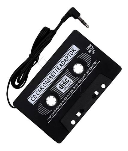 Imagen 1 de 3 de Cassette Adaptador Auxiliar Jack 3.5 Mm