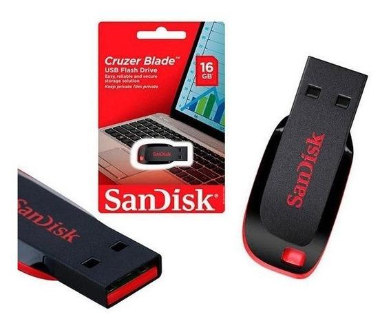 Pen Drive 16 Giga Original Sandisk