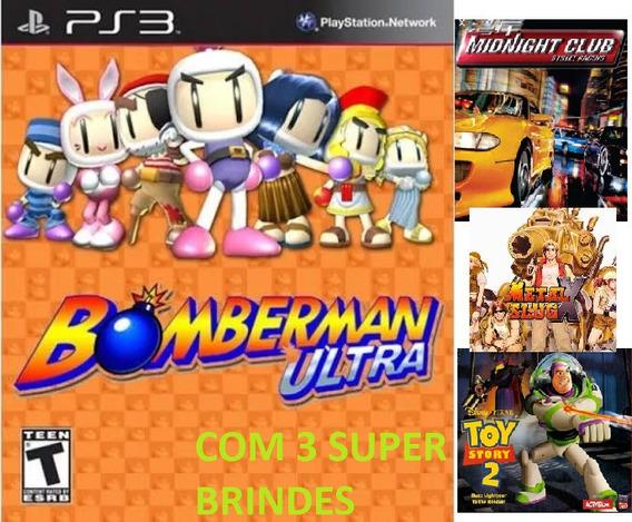Bomberman Ultra - Psn Ps3 - Mais Brinde