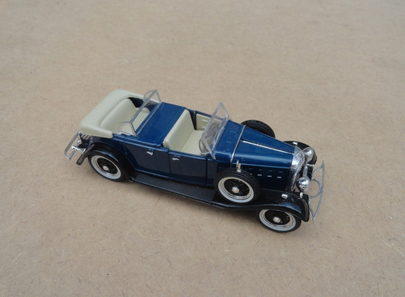 Miniatura Lincoln Phaeton 1932 Azul Akko