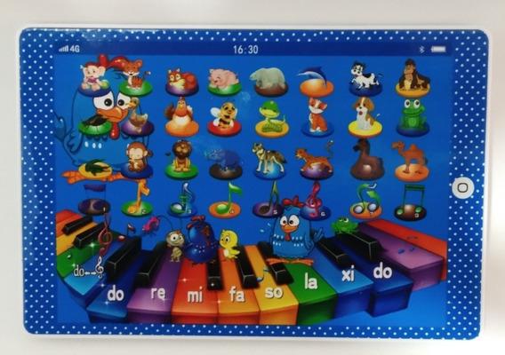 Piano Musical Formato Tablet - Galinha Pintadinha - P