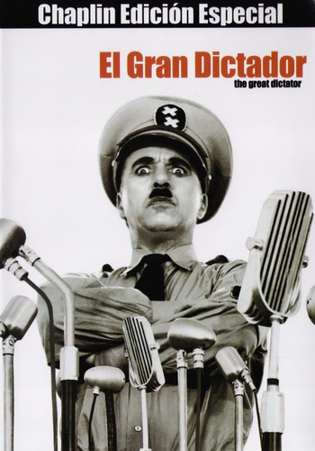 Imagen 1 de 3 de El Gran Dictador Charles Chaplin Pelicula Dvd