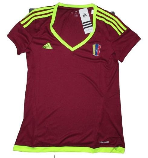 Camisa adidas De La Vino Tinto Original Dama