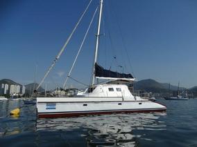 Veleiro Catamarã 2 Motores Diesel Lindo Equipado Completo
