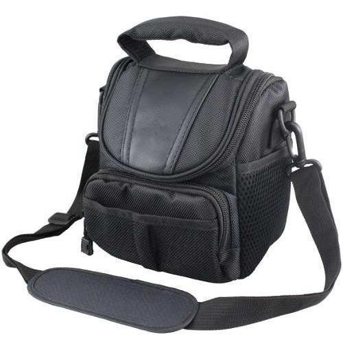 Bolsa Case Canon Nikon Kodax Maquinas Compactas Mini Bag