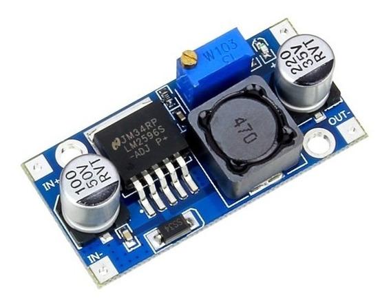 Regulador Tensão Step Down Buck Dc-dc Lm2596 3a Arduino