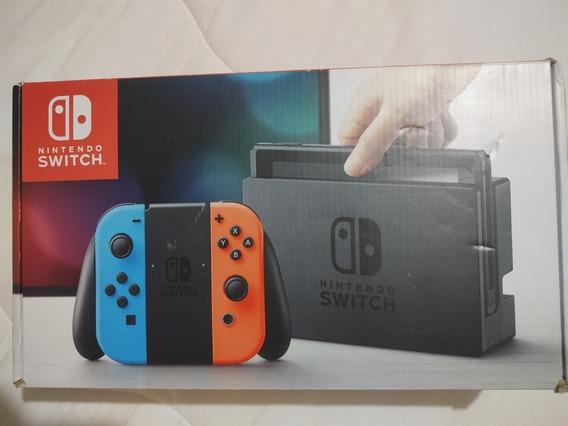 Nintendo Switch Neon 32gb Com 11 Jogos Digitais Originais.