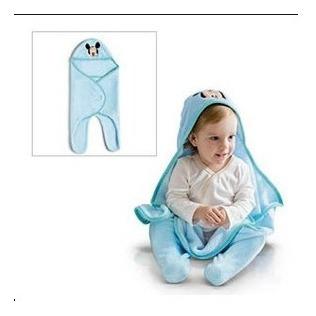 Toalha De Banho Minnie Ou Mickey Roupão Microfibra Para Bebê