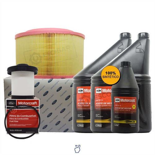 Kit Filtro Combus + Aire + Aceite 5w30 X 9 Lts. Ford Ranger