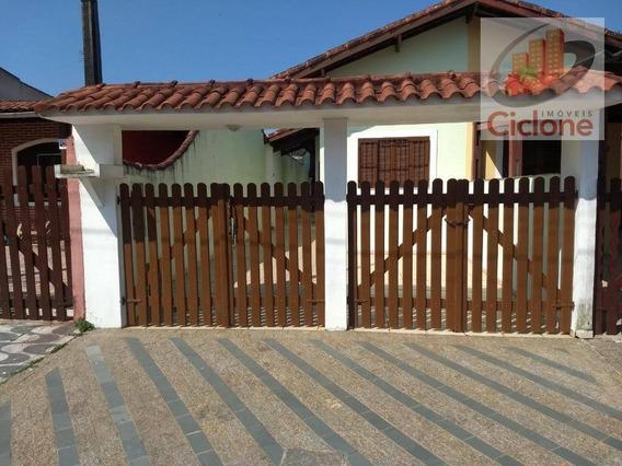 Casa Com 2 Dormitórios À Venda, 64 M² Por R$ 250.000 - Jardim Belas Artes - Itanhaém/sp - Ca0733