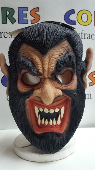 Mascara Latex Hombre Lobo Spook Cotillon Disfraces Halloween