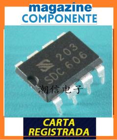 Ci Dip Sdc606 - Sdc 606 - Dip8 Pwm - Original
