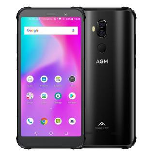 Versin De La Ue Agm X3 Telfono Mvil Robusto 8gb + 128gb