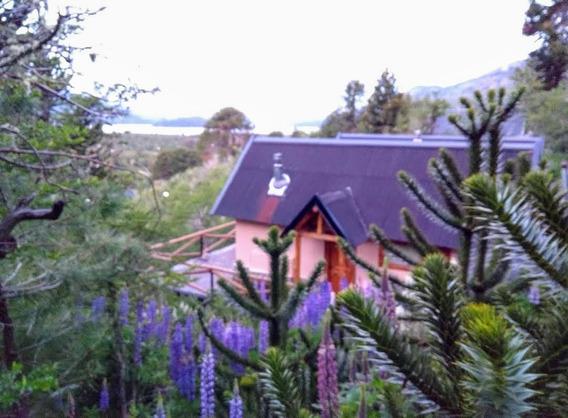 Alquiler X Día En Moquehue Cabaña 70 M2 Dos Hab Para 4 Pers