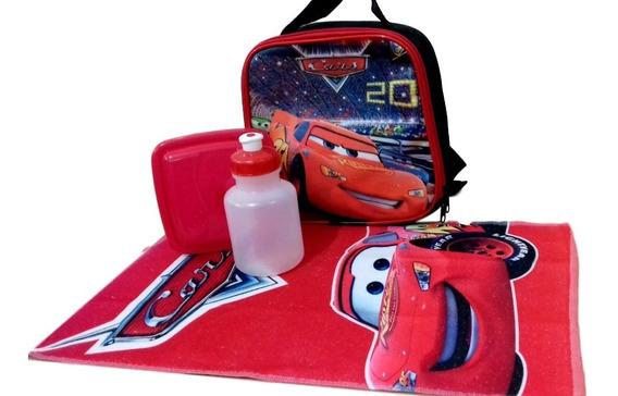 Lancheira Térmica Infantil Carros Mcqueen Squeez
