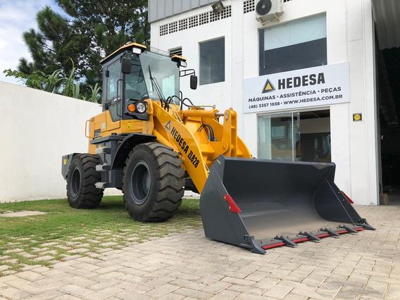 Pá Carregadeira Hedesa Zl828 2000kg, 1m3, Ar, 0km