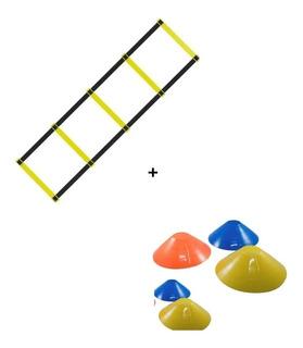 Kit Escalera Cordinación 5 Escalones + 10 Conos Tazas