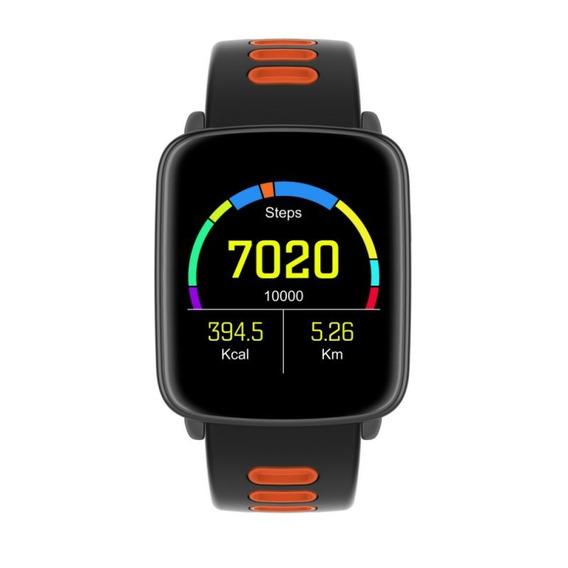 Smartwatch Com Monitoramento Cardíaco Qtouch Touch Screen