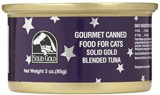 Solid Gold Gourmet - Blended Atún - 24 X 3 Oz