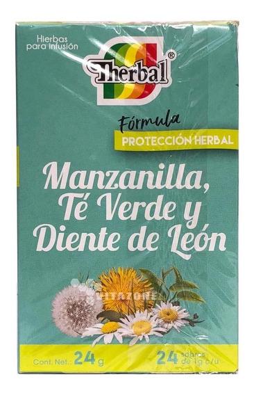 Te Manzanilla Te Verde Y Diente De León Therbal C/24 Sob Sei