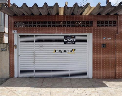 Casa À Venda, 130 M² Por R$ 520.000,00 - Vila Marari - São Paulo/sp - Ca3789