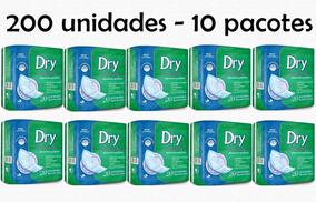 200 Absorventes Geriátrico Dry Economics 10 Pacotes Promoção