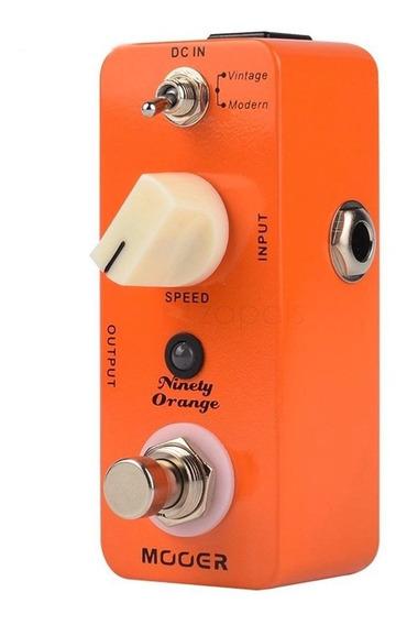 Mini Pedal Mooer Ninety Orange Analog Phaser / Nf
