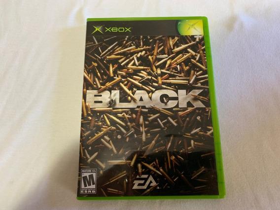 Black Xbox Original Completo Americano