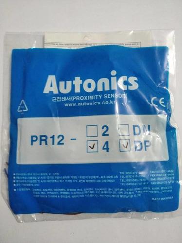 Sensor Inductivo De Proximidad M12 Pr12-4dp Autonics