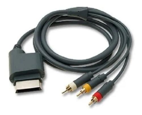 Cable Xbox 360 Audio Y Video Rca Usado Como Nuevo