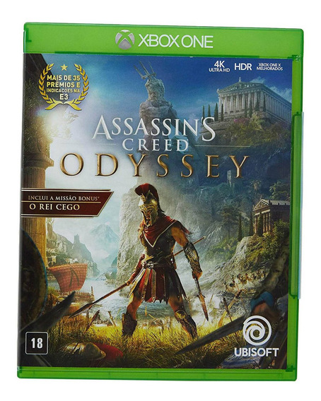 Assassins Creed Odyssey Xbox One Mídia Física Português