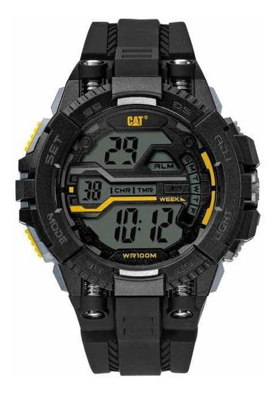 Reloj Digital Caterpillar Negro
